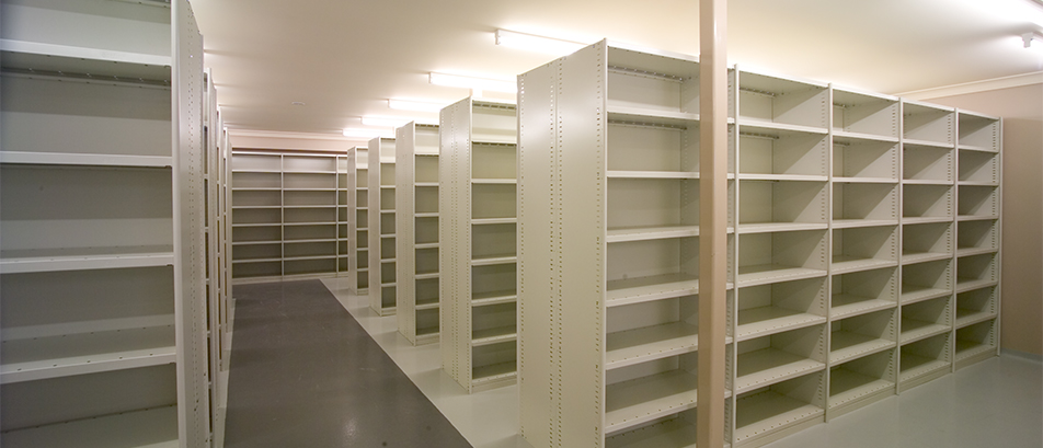 Rolled Edge Shelving